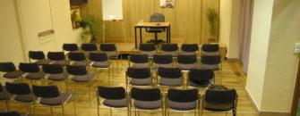 Salle des muses - 60 places - Espace Le Moulin