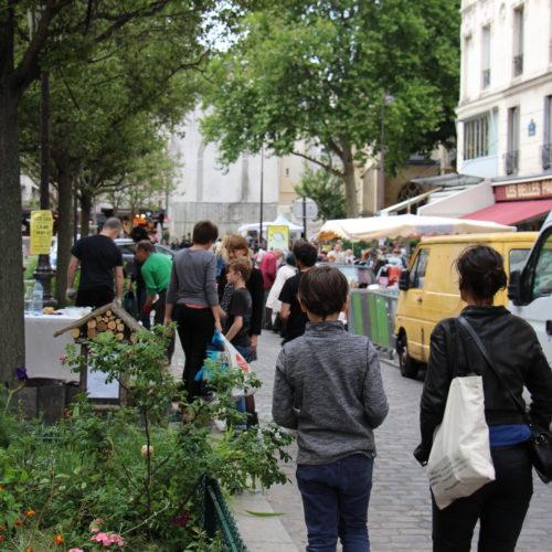 Espace végétalisé rue de Bazeilles - Nouvelle Acropole Paris 5 - Espace Le Moulin